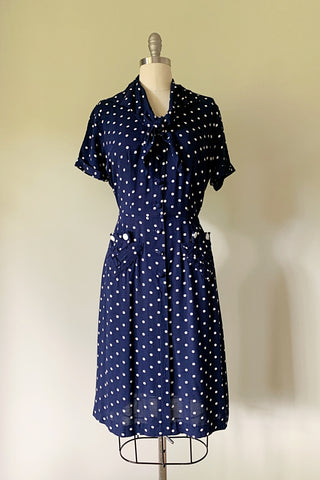 Delilah Polka Dot Dress