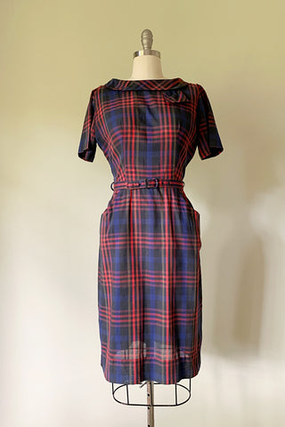 Catrine Plaid Dress