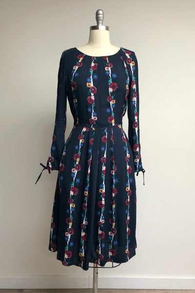 Stephy Dress Autumn Blooms