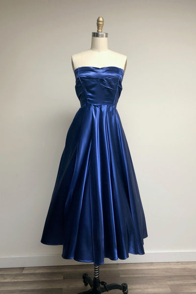 Midnight Heartbeat Party Dress