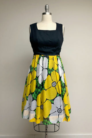 1960s Miss Elliette Dress