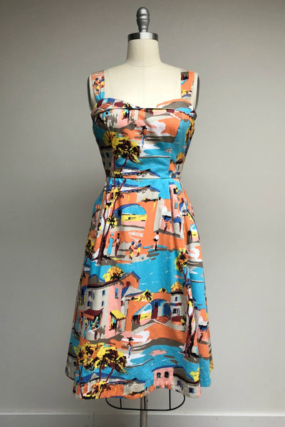 Pippa Havana Print Summer Dress