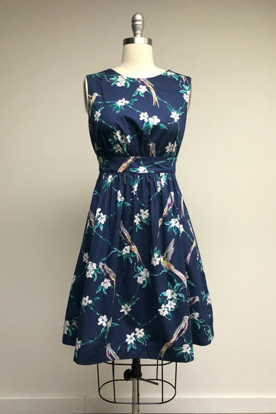 Lucy Dress Hovering Hummingbirds