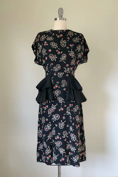 Rose Bouquet Rayon Dress