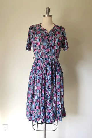 Esme Mid Century Day Dress