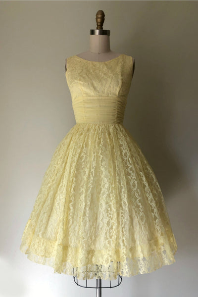 Lemon Tarte Party Dress