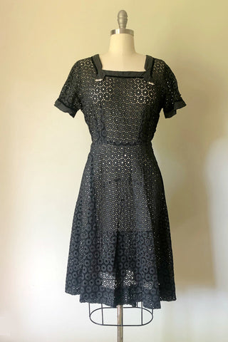 Jezebel Eyelet Dress