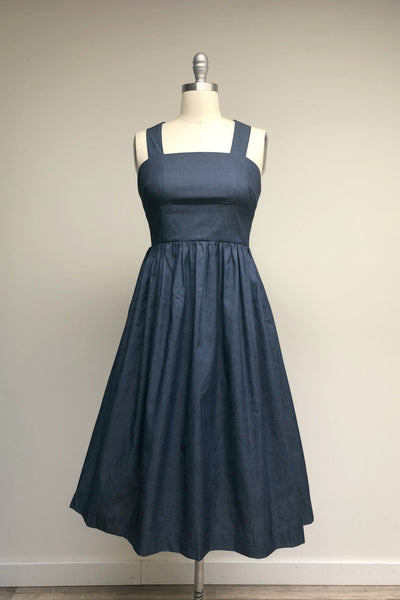 Celeste Dress Denim Chambray