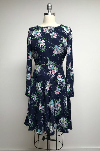 Elinor Long Sleeved Parisian Wild Floral Dress