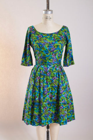 Forever Kind Floral Dress by Jerry Gilden - Simply Vintage  - 1