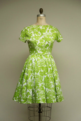 Citron Day Dress