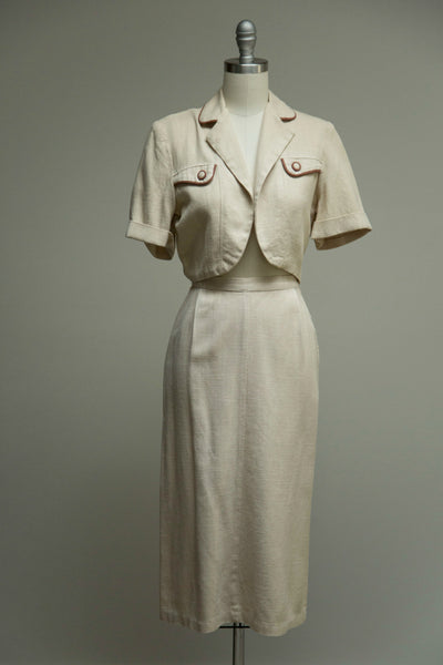Sharp Dresser Skirt Set