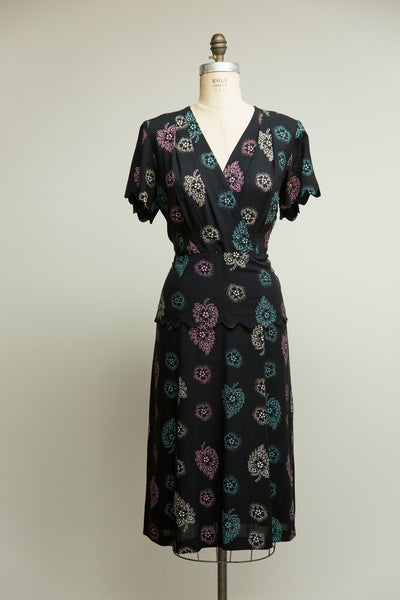 Falling Hearts Rayon Dress