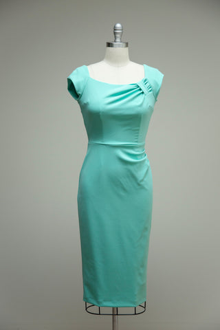 Dakota Mint Short Sleeve Dress
