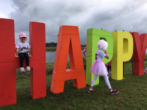 Ruby Happy at Color Run