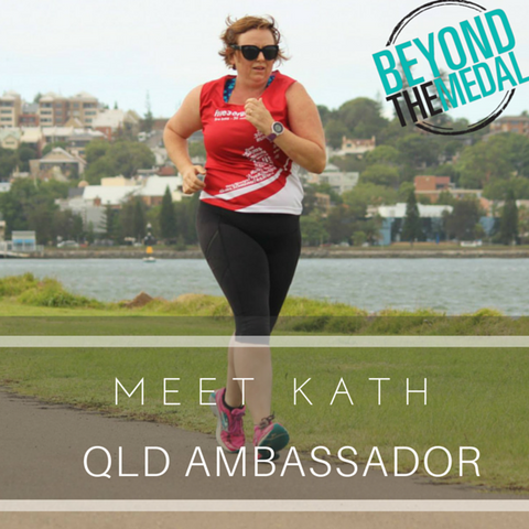 Kath Jones Beyond The Medal Ambassador
