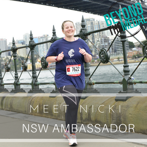 Nicki Beyond The Medal Ambassador