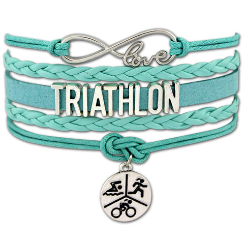 Infinity Love to Tri Bracelet - Beyond The Medal