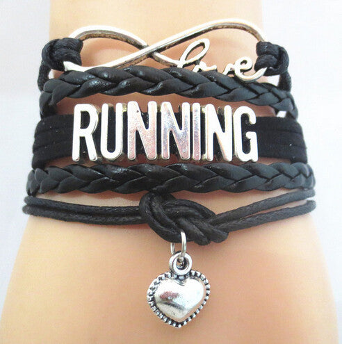Infinity Love Running Bracelet - Beyond The Medal