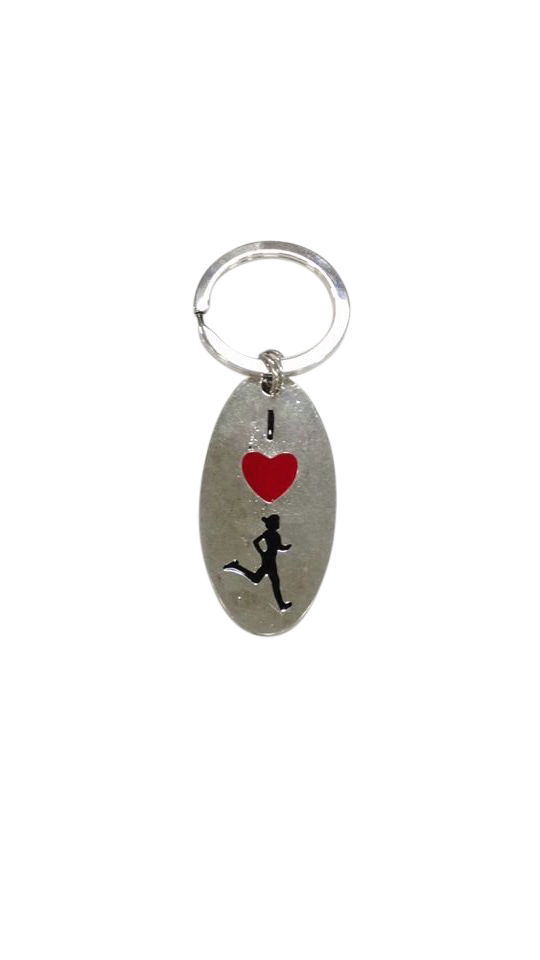 Runner Girl Key Ring - Beyond The Medal