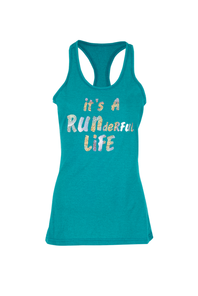 """It's A RUNderful Life"" Singlets - Beyond The Medal"