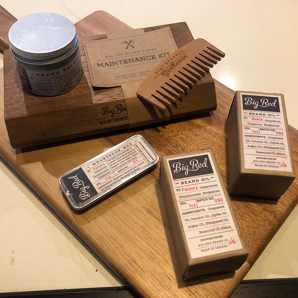 Kit de Mantenimiento de barba Big Read beard Co.