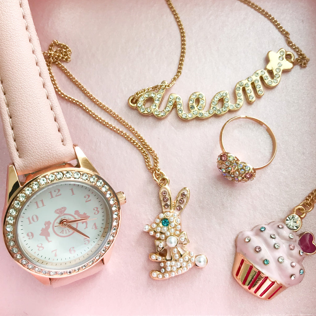 You Are So Sweet Cupcake Necklace スイート カップケーキ キッズ ネックレス