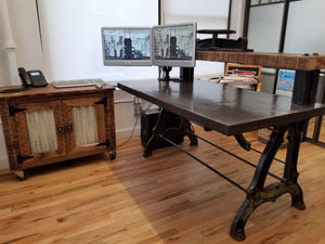 Cabinet and Office Table