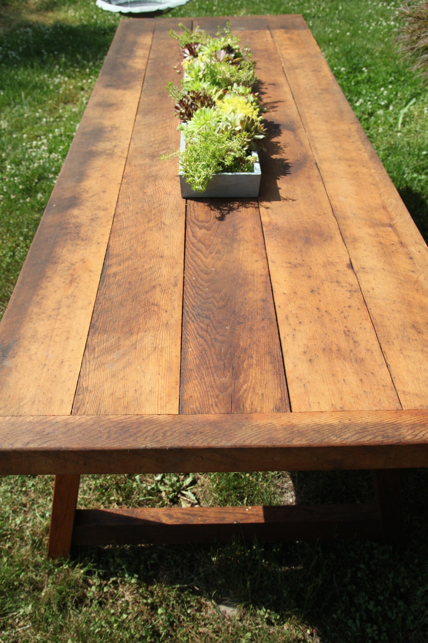 Custom Cedar Picnic Table