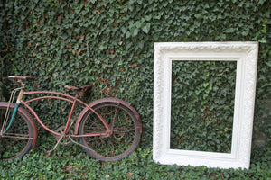 Antique White Frame