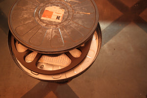 Vintage Film Reel Case Table