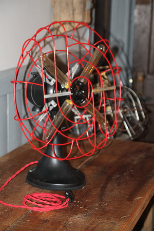 Late 1940s restored Vintage Hunter Fan Light