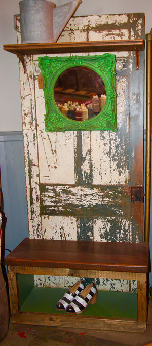 Reclaimed Vintage Door Seat