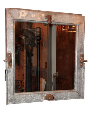 Reclaimed Industrial Mirror