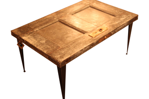 Reclaimed antique Fire Door Coffee Table