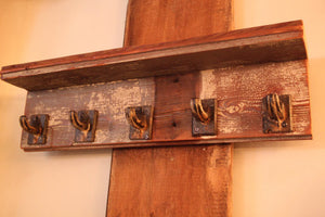 Reclaimed Barn Wood Shelf