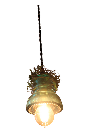 Vintage Insulator Pendant Lights