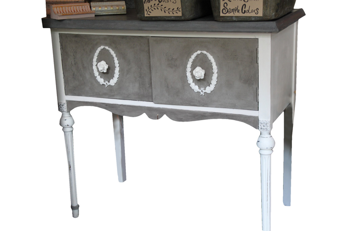 Vintage Cabinet reimagined in Annie Sloan Chalk Paint®