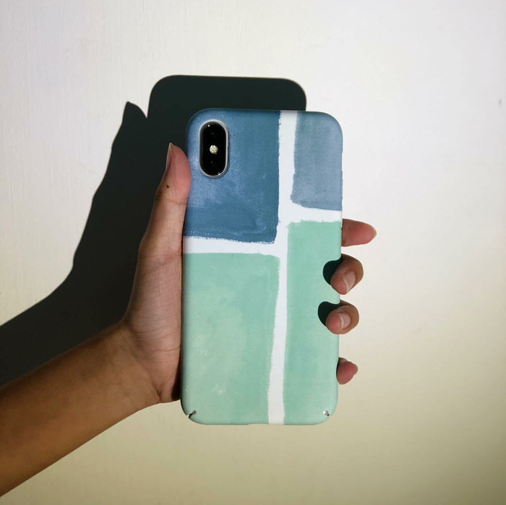 Green Brick Phone Case - iPhone X