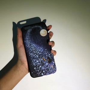 Moon Galaxy Phone Case - iPhone
