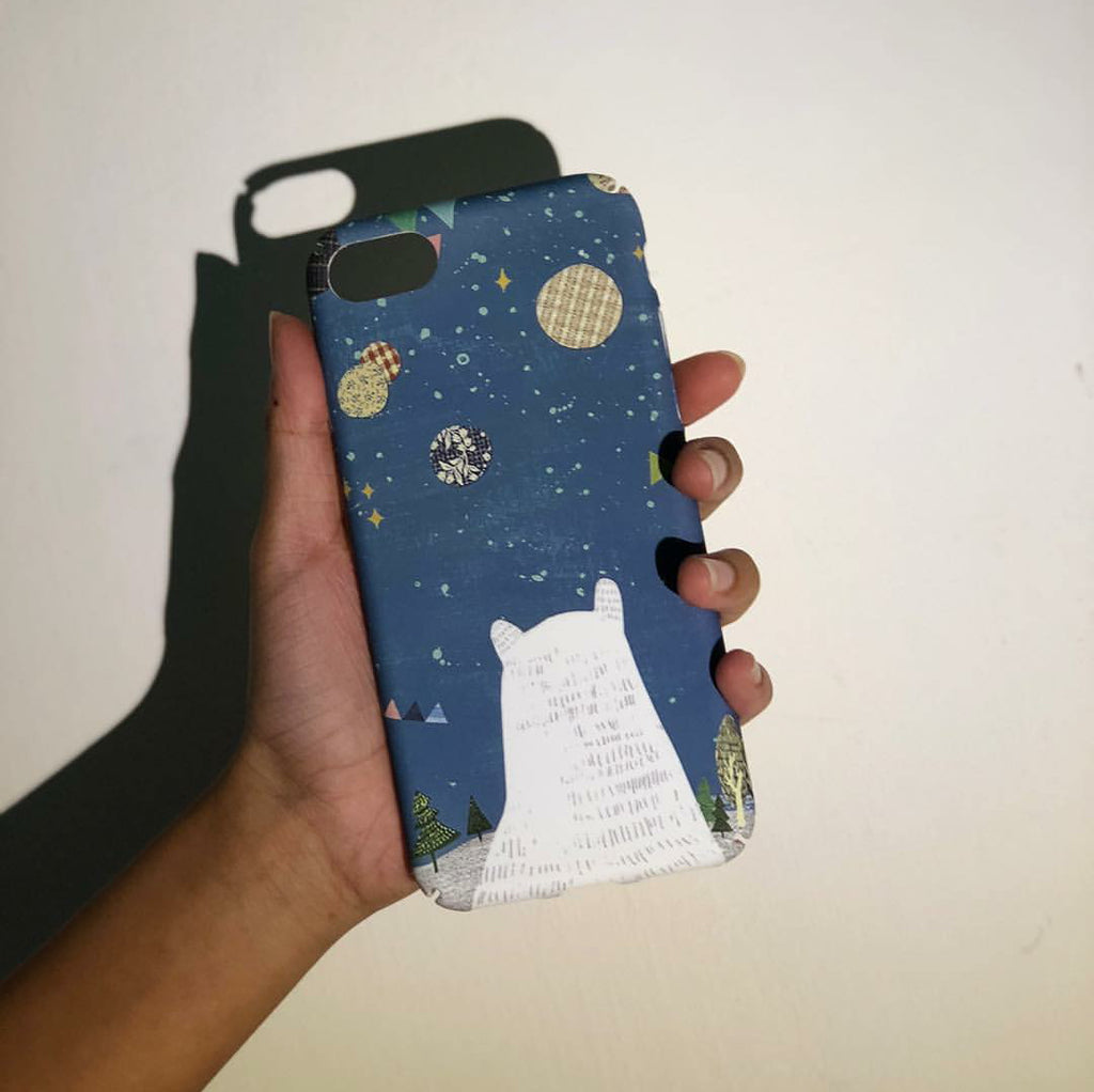 Polar Bear Phone Case - iPhone