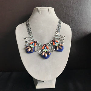 Ethnic Necklace in Blue