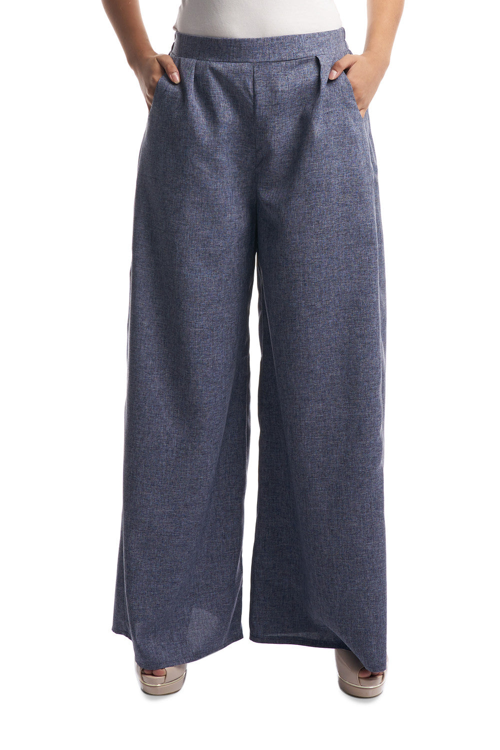 Palazzo Pants in Blue
