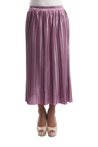 Pleated Skirt (Blush)