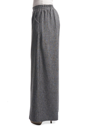 Palazzo Pants in Light Grey