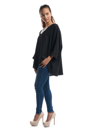 Batwing Top (Black)