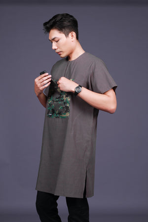 Kurta Camo - Dark Grey