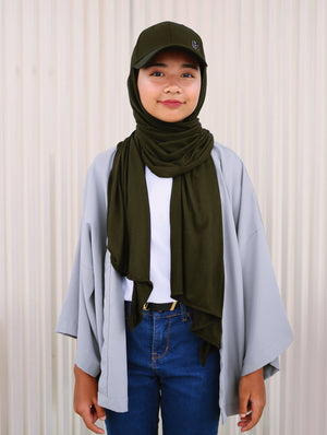 Hijabcap in Olive Green