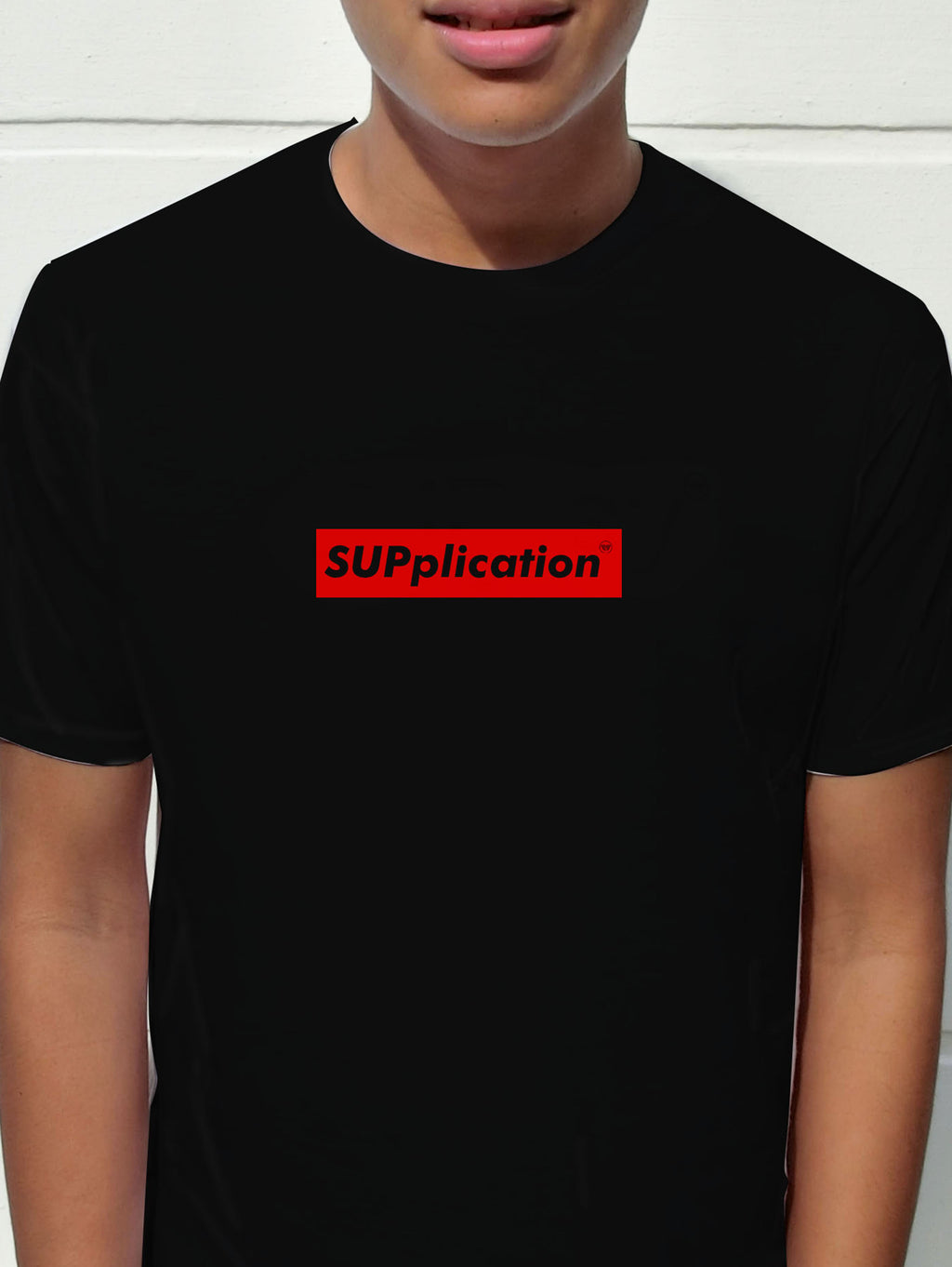 Tshirt - Supplication in Black