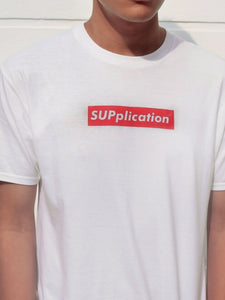 Tshirt - Supplication in White